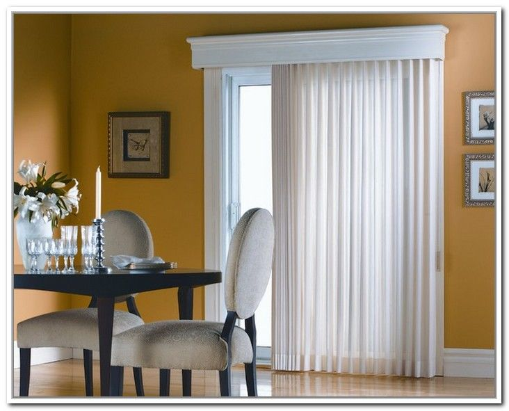Curtain Rods For Sliding Glass Doors With Vertical Blinds .
