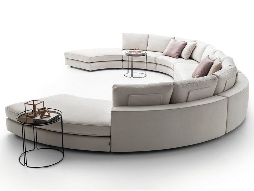 Download the catalogue and request prices of Loman | curved sofa .