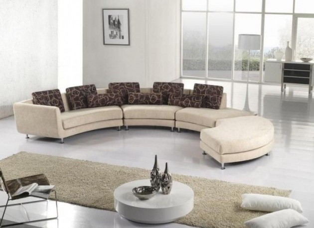 17 Classy Curved Sofa Designs For Every Sophisticated Contemporary .