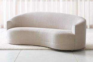 Infiniti Curved Back Sofa + Reviews | Crate and Barr