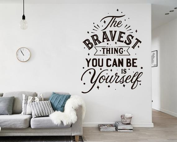 Quote Decals Wall Decals Wall Stickers Decal Quotes Wall   Et