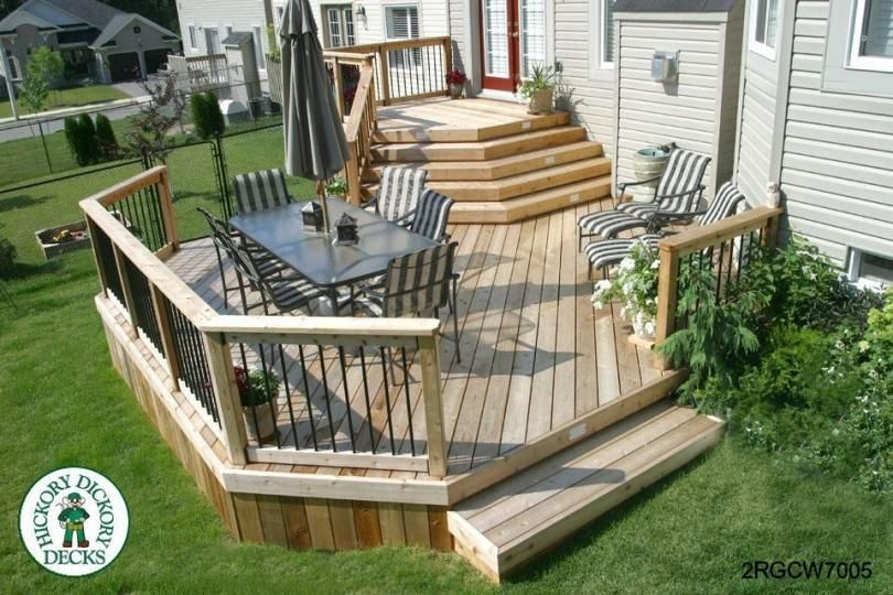 The Complete Guide About Multi Level Decks with 27 Design Ideas .