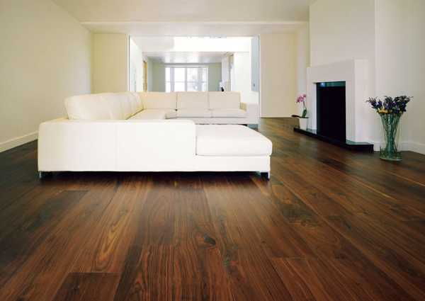 Marvelous Handcrafted Solid Wood Floor, Wooden Walls and Ceiling .