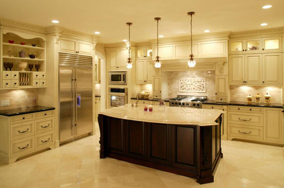 Large Luxury Kitchens Designs (38 Picture