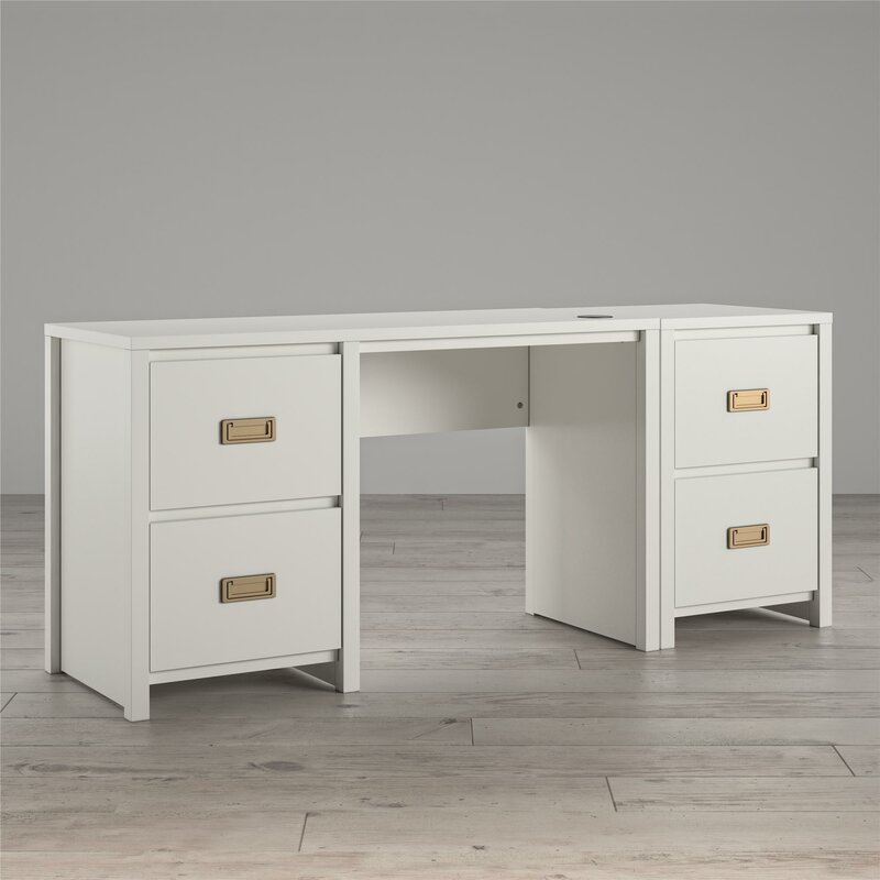Little Seeds Monarch Hill Haven Kids Study Desk with 4 Drawers .
