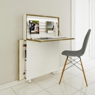Amazing Small Secretary Desk For Small Spaces - Ideas on Fot