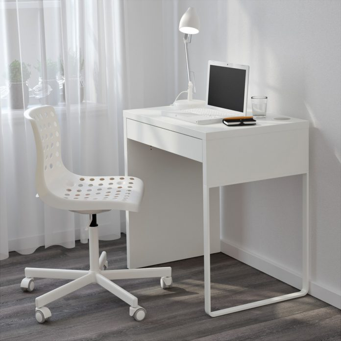 Computer Desk for Small Spaces and Efficient Spa