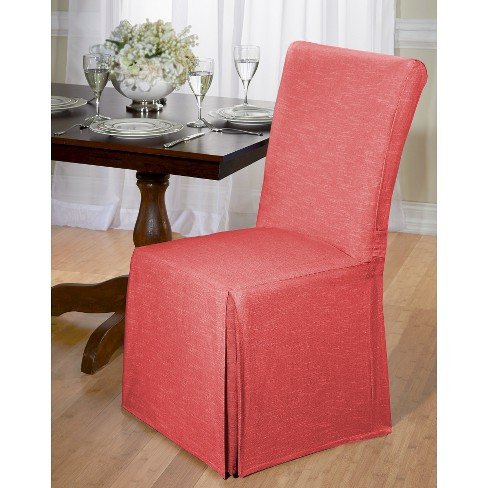 Chambray Dining Room Chair Slipcover - Madison Industries : Targ