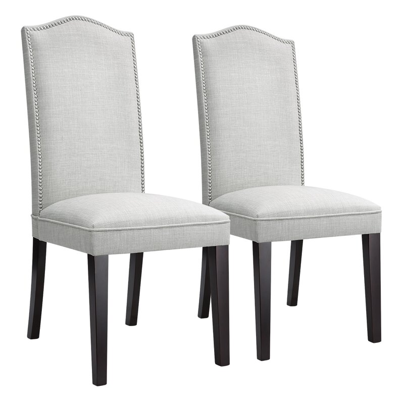 House of Hampton Bouie Modern High Back Upholstered Dining Chair .