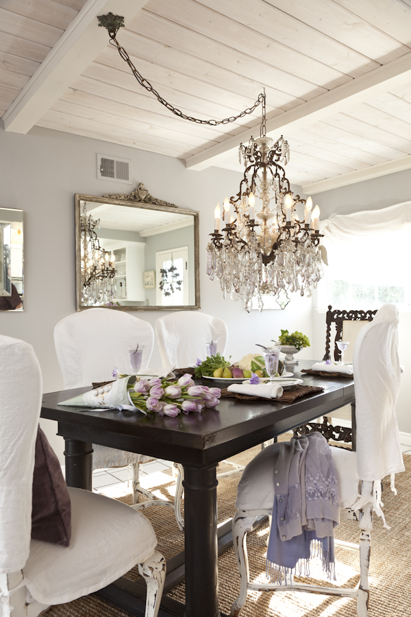 Chandelier For Small Dining Room New Pretty Coastal Rooms Lights .