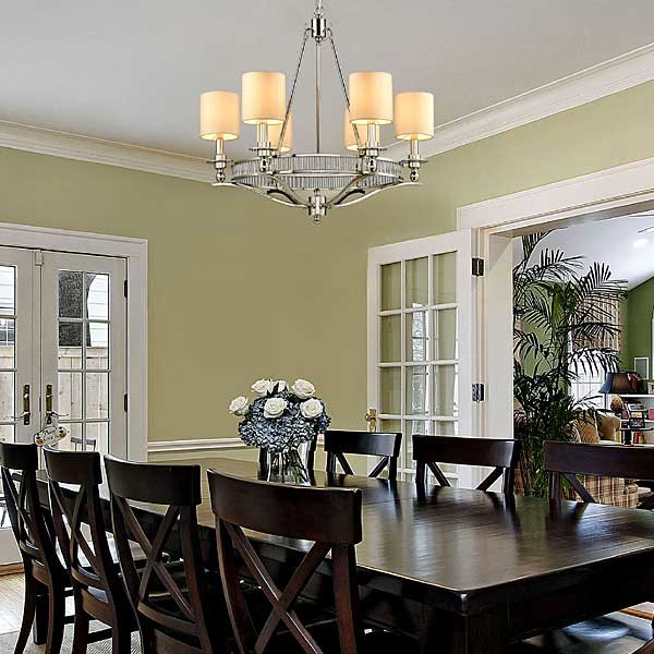 Contemporary Chandelier - Traditional - Dining Room - Houston - by .