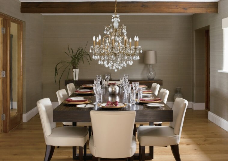 How Chandeliers Set the Tone in Your Dining Ro
