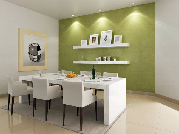 Dining room wall color ideas - large and beautiful photos. Photo .