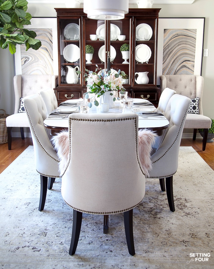How To Update Dining Room Furniture - Setting for Fo