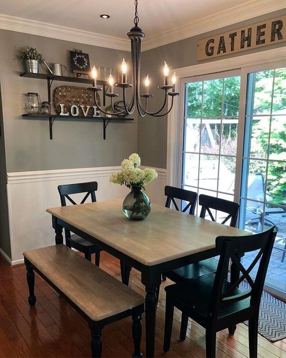70+ Best Cozy Rustic Dining Room Decor Ideas You May Love - Page .