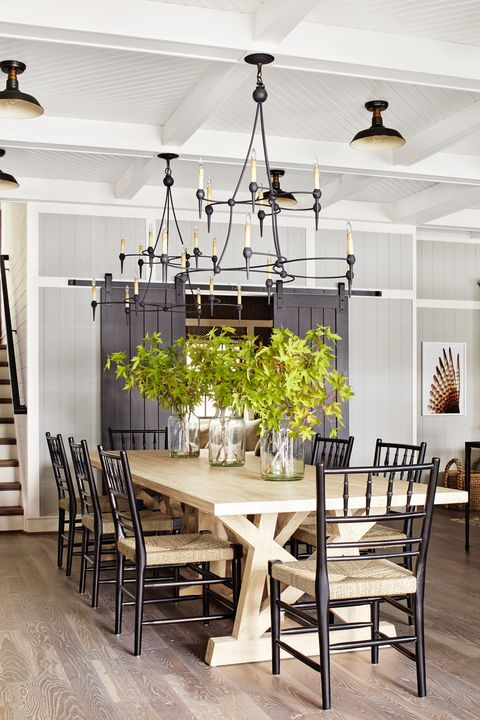 85 Best Dining Room Decorating Ideas - Country Dining Room Dec