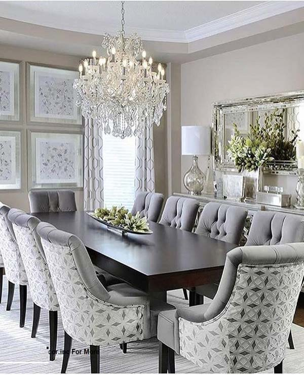 Fantastic Dining Room Decoration Ideas for 2019 | Fashionsfie