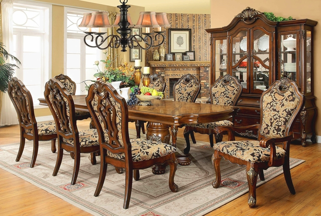 Opulent Traditional Style Formal Dining Room Furniture S