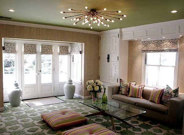 How To Get A Luxury Living Room With Golden Lighting | Living room .