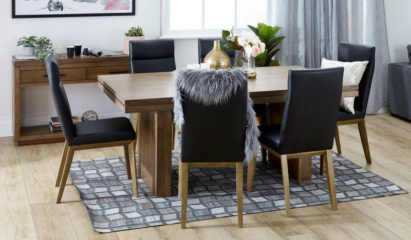 Heyfield dining suite with Penfold chairs | Dining suites, Dini