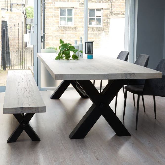 Home of Teak Furniture (With images)   Metal dining table, Modern .