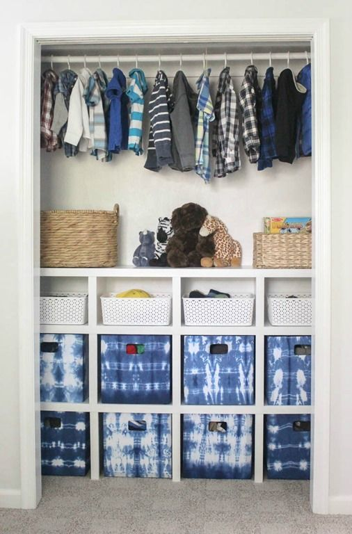 How to build cheap and easy DIY closet shelves | Kids bedroom .