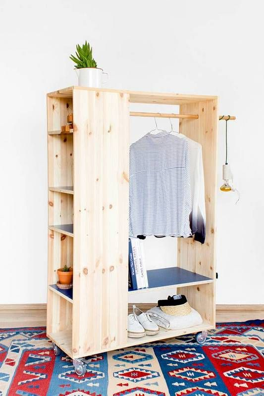DIY Ideas To Building A Perfect Wardrobe For Yourself - Craft Ke