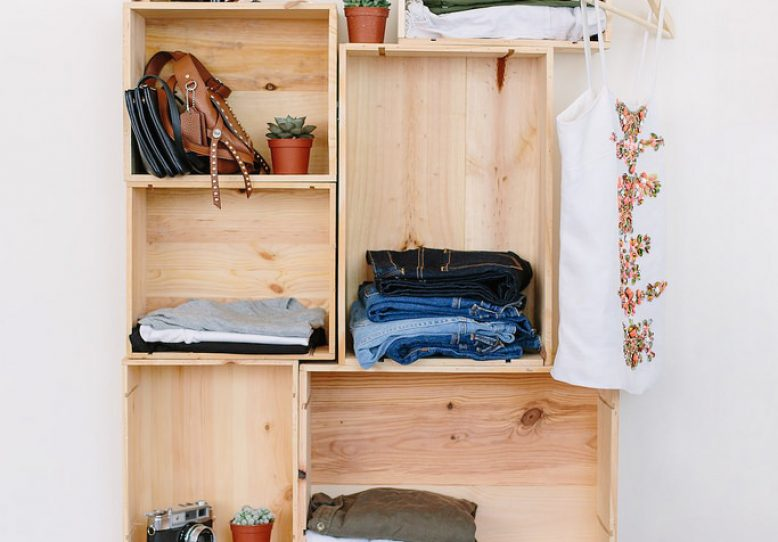 DIY Box Wardrobe | Collective G