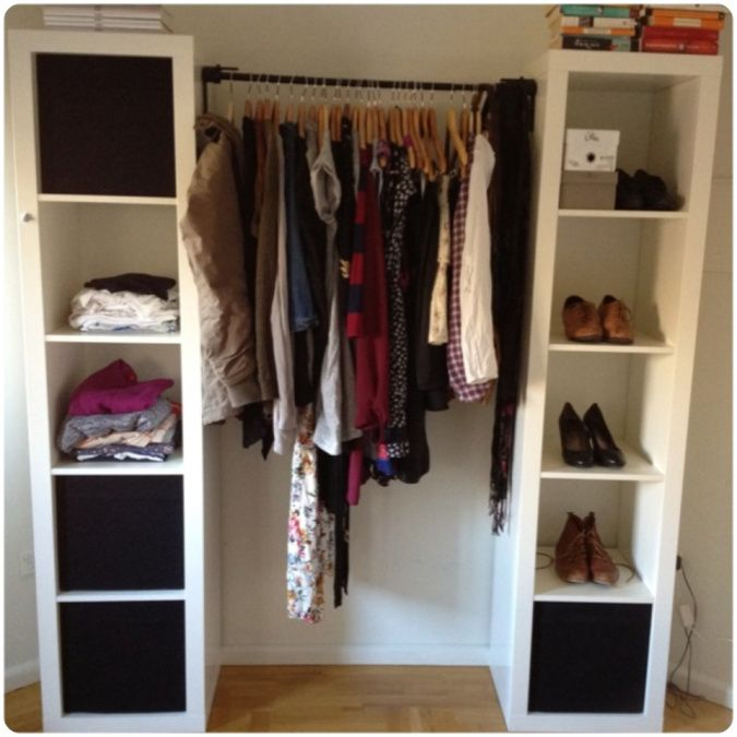DIY Wardrobe | Diy wardrobe, No closet solutions, Closet bedro