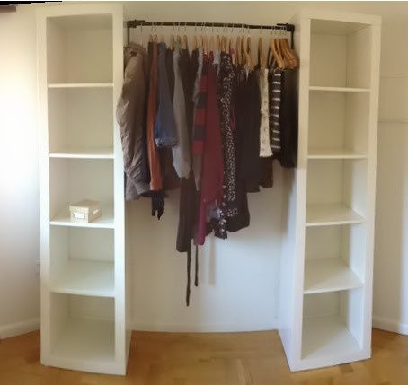 DIY Wardrobe | Diy wardrobe, Diy fitted wardrobes, Small close