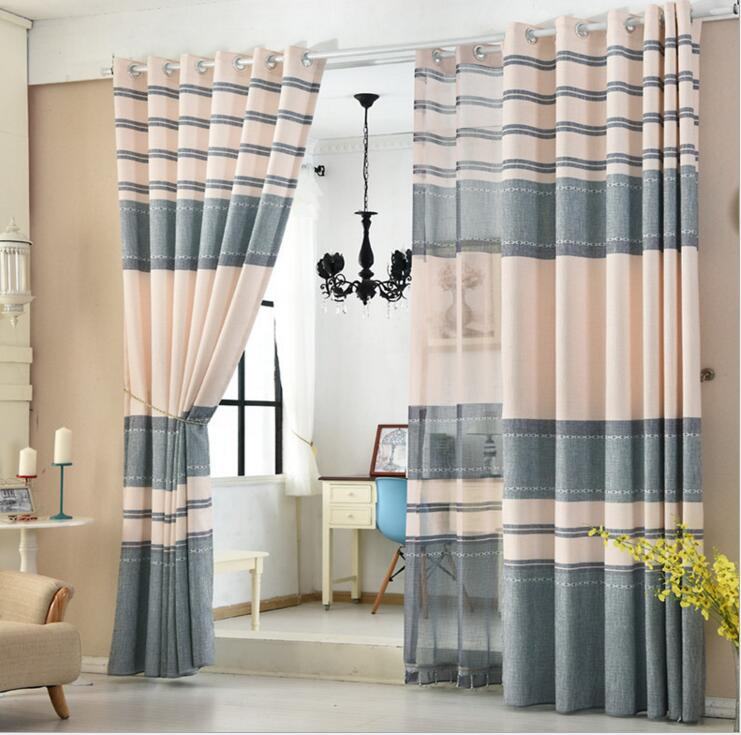 Tulle or blackout curtain kitchen door window curtains for living .