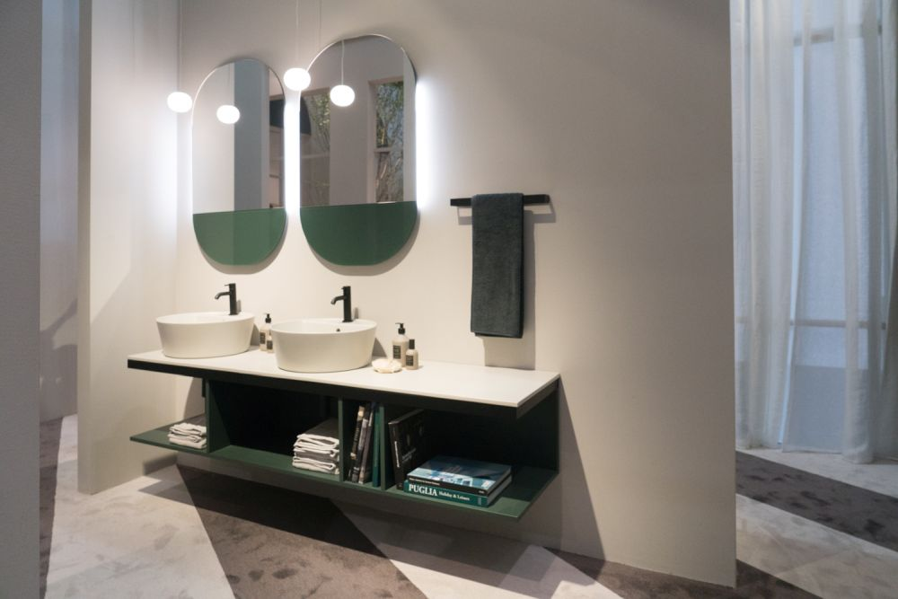 Great Double Sink Vanity Ideas For Shared Bathroo