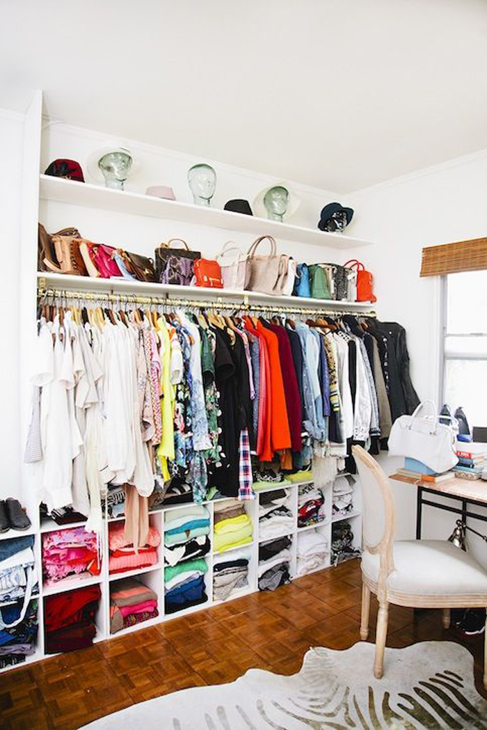 How to Create and Organize Your Dream Closet - The Everygi