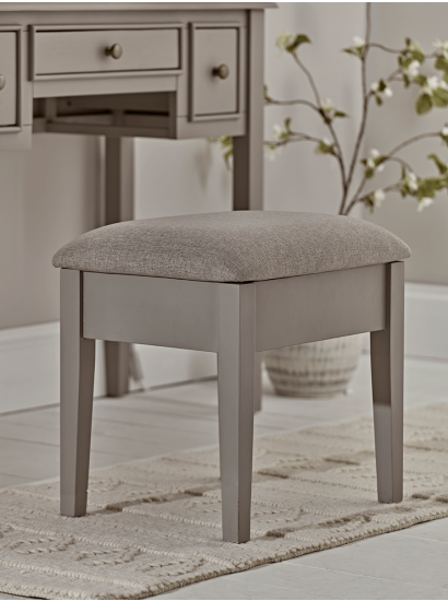 NEW Camille Dressing Table Stool - Grey (With images) | Blue .