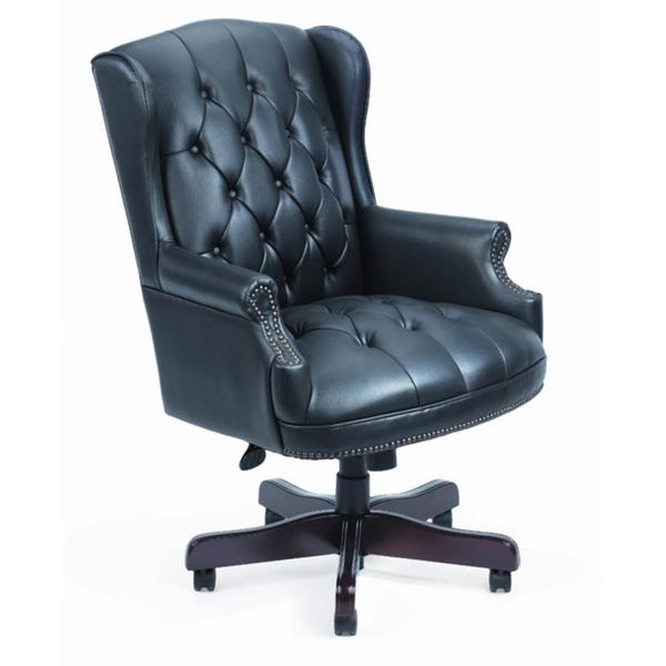 Shop Boss Traditional High-Back Executive Chair - Overstock - 22019
