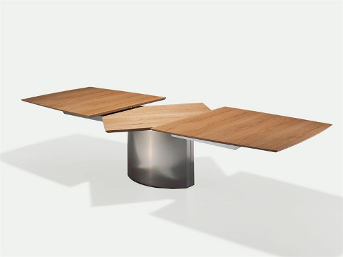 Dining Table for Small Spaces: Extendable Adler by Draene