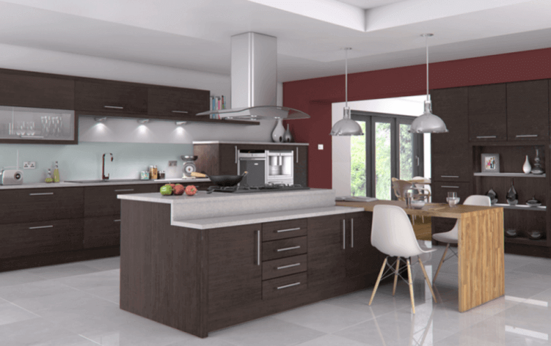 Extra Large Kitchen Island with Seating | Remodeling Cost Calculat