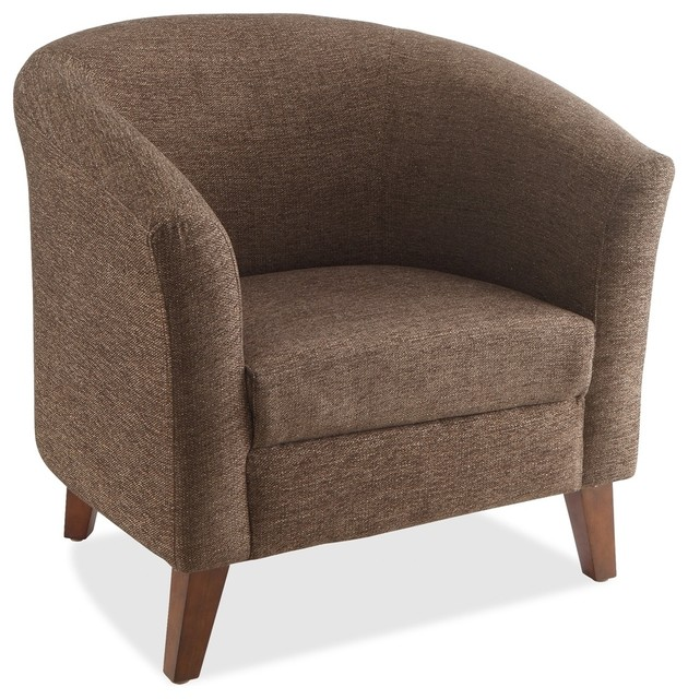 Lorell Fabric Club Armchair - Armchairs And Accent Chairs - by .