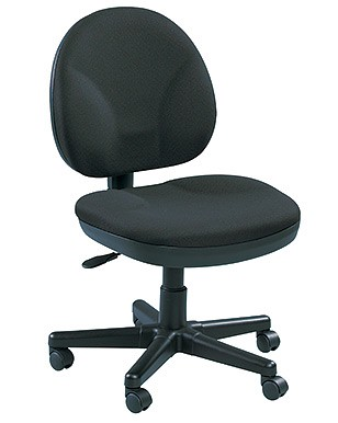 Eurotech OSS400 Armless Office Task Chair with Whee