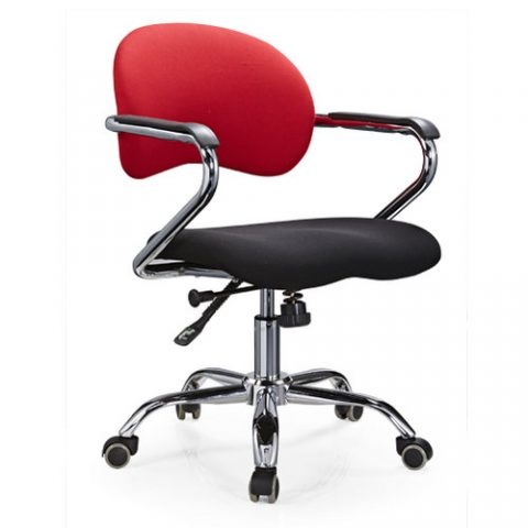 Fabric Office Chairs With Arms And Wheels