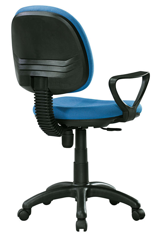 Economic High Back Fabric Office Chairs With Arms And Wheels PP FO