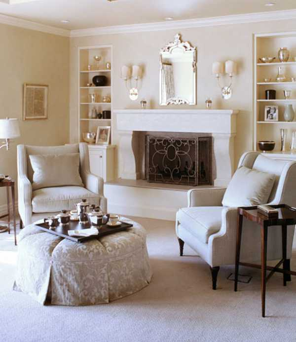 20 Cozy Living Room Designs with Fireplace and Family Friendly Dec