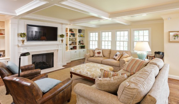 22 Comfortable Family Room Design Ide