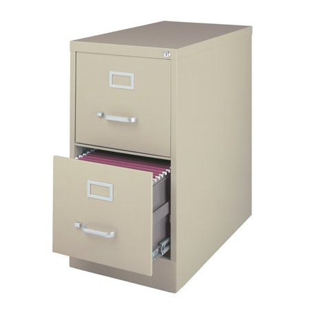 3000 Series 26.5-inch Deep 2-Drawer, Letter-Size Vertical File .