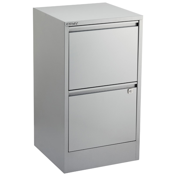 Bisley Silver 2- & 3-Drawer Locking Filing Cabinets | The .