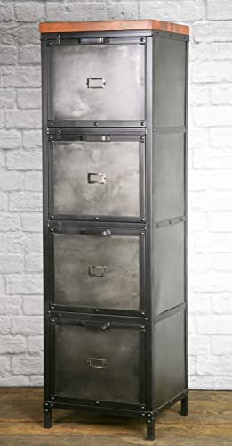 Amazon.com: Industrial Filing Cabinet, Modern Industrial File .
