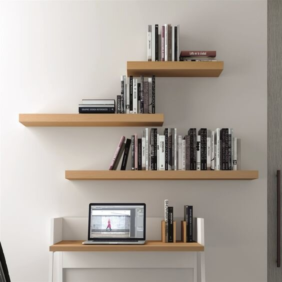 How Much Weight Can a Floating Shelf Bracket Hold? — Sheppard .