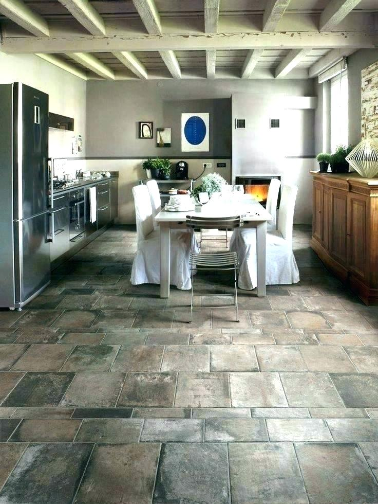 Kitchen Tile Floor Ideas With White Cabinets Kitchens Floors .