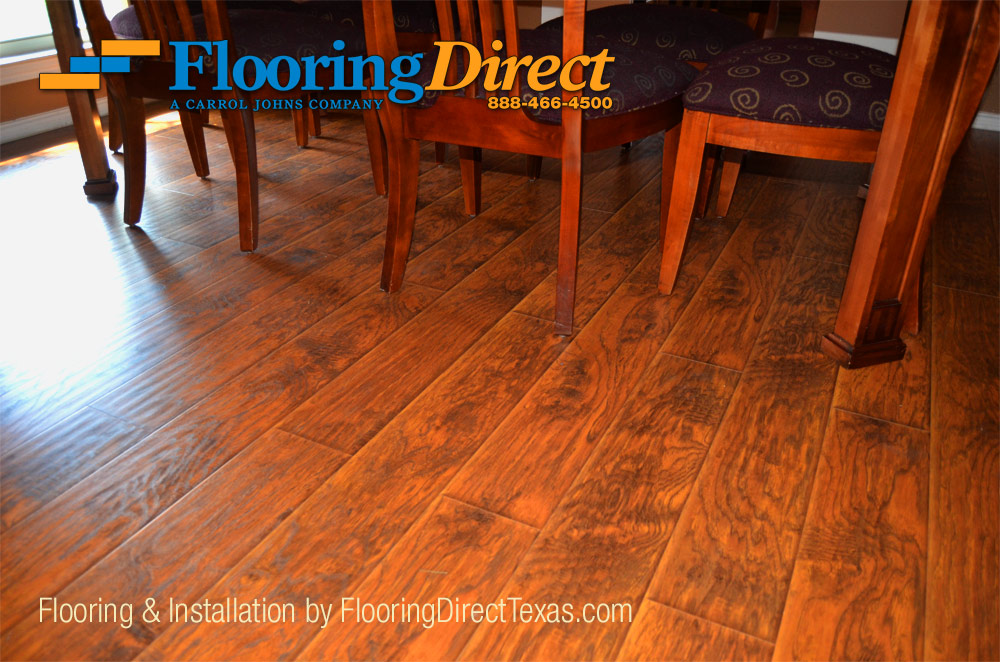 Wood-Look Laminate for all DFW Call Flooring Direct 888-466-4500 .