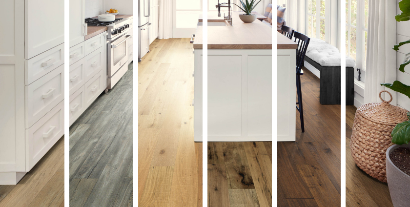 Hardwood Floors in the Kitchen? Yes! - 1 Kitchen, 6 Wood Floo
